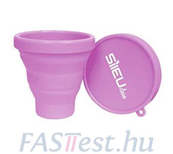 Sileu intimkehely sterilizáló- rózsaszín