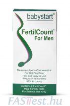 Babystart termékenységi teszt férfiaknak (FertilCount) - 2 db/doboz