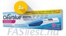 Clearblue DIGITAL terhességi teszt fogamzásjelzővel - 2 db