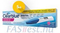 Clearblue DIGITAL terhességi teszt fogamzásjelzővel - 5 db