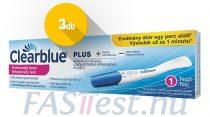 Clearblue PLUS terhességi teszt - 3 db