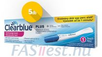 Clearblue PLUS terhességi teszt - 5 db