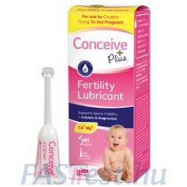 Conceive Plus spermabarát síkosító, kálcium- és magnéziumionnal - 8 db (4 gm-os) előre megtöltött applikátorban