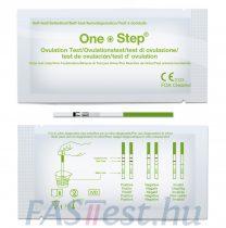 Ovulációs tesztcsík - 20mIU/ml 2.5 mm széles