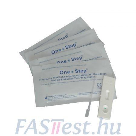 One Step HCG tesztkazetta- ( Egens) 25 mIU/ml