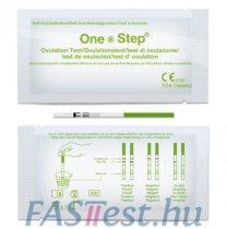 Ovulációs tesztcsík 20 mIU/ml (2,5 mm széles) - 10 db